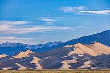 Dunes in the morning light. Great Sand Dunes NP, Colorado. - Photo #33192