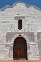 Front door of Mission San Diego. - Photo #26292