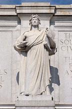 Statue of Apollo. Union Station. Washington, D.C., USA. - Photo #11192