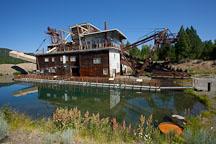 Sumpter Dredge. Sumpter, Oregon. - Photo #27692