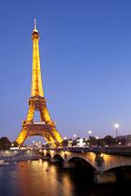 Pont d'Lena and the Eiffel Tower. Paris, France. - Photo #31993