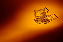 Empty shopping cart. - Photo #17193
