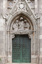Ornate door at Grace Church. New York City, NY. - Photo #25293