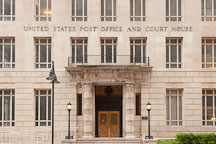 United States Post Office and Courthouse. Dallas, Texas. - Photo #24893