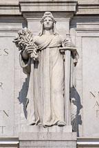 Statue of Themis. Union Station. Washington, D.C., USA. - Photo #11193