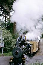 22' gauge Cagney Locomotive. San Francisco Zoo, California. - Photo #194