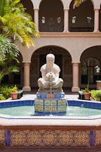 Aztec woman of Tehuantepec. House of Hospitality, Balboa Park, San Diego. - Photo #25794