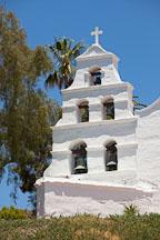 Campanile at Mission San Diego de Alcala. - Photo #26294