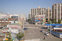 A view of Incheon, South Korea, upon exiting the subway station. - Photo #20094
