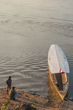 Early morning on the Madre de Dios River. Amazon, Peru. - Photo #8994