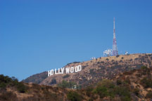 Hollywood sign. Mt. Lee, Hollywood, California, USA. - Photo #8095