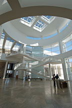 Main entrance, Getty Center. Los Angeles, California, USA. - Photo #8195