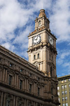 Clock tower of the General Post Office. Melbourne, Australia. - Photo #1696
