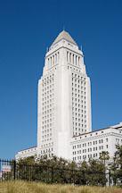 Los Angeles City Hall. Los Angeles, California, USA. - Photo #6496