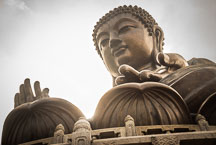 Tian Tan Buddha. Lantau Island, Hong Kong, China. - Photo #16096