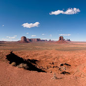 View from Artist's point. Monument Valley, Arizona. - Photo #22096