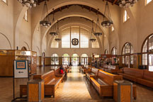 Interior of the Santa Fe train depot building. San Diego, California - Photo #26098