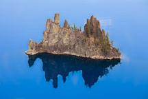 The Phantom Ship in Crater Lake National Park. - Photo #27498