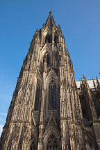 Cathedral spire. Cologne, Germany. - Photo #30798