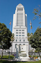 City Hall. Los Angeles, California, USA. - Photo #6499