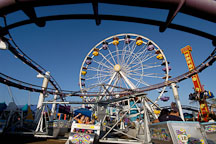 Carnival rides. Santa Monica Pier. Santa Monica, California, USA. - Photo #8262