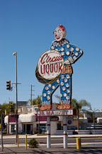 Circus Liquor, North Hollywood, California, USA. - Photo #8619