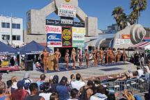 Female bodybuilders. Muscle beach, Venice, California, USA. - Photo #8658