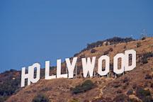 Hollywood sign. Mt. Lee, Hollywood, California, USA. - Photo #8083