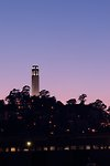 Pictures of Coit Tower and Telegraph Hill